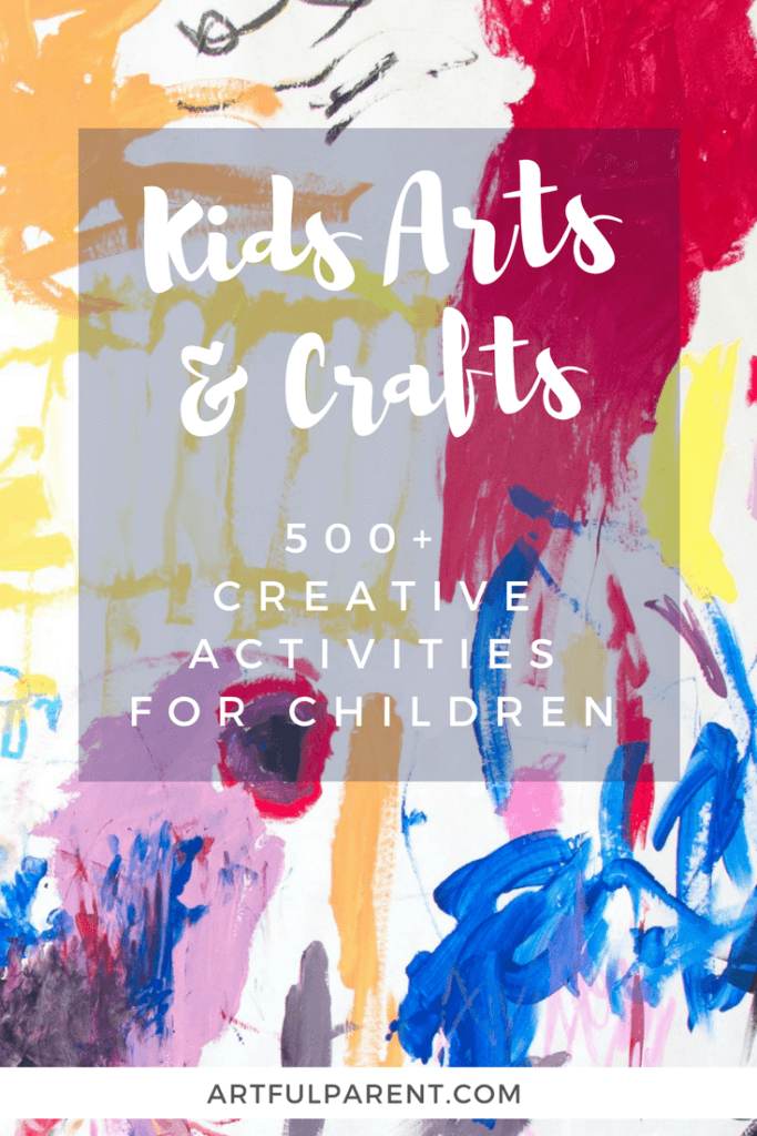 Kids Arts And Crafts Activities A Directory Of 500 Fun