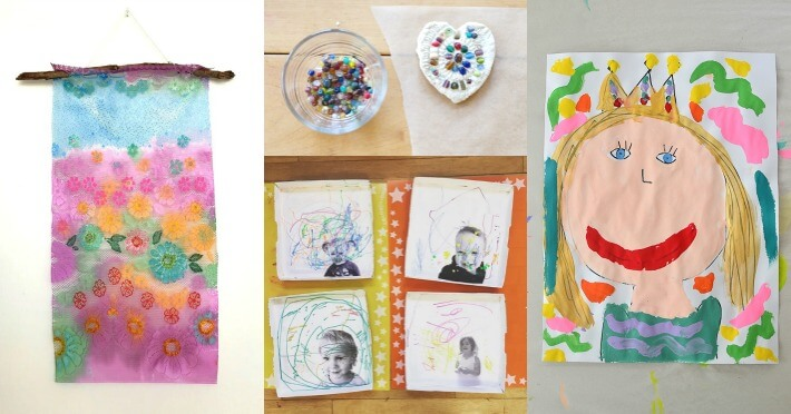 31 Mothers Day Projects for Kids Collage of Ideas