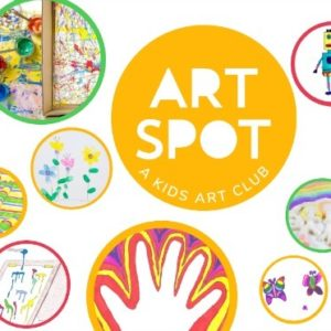 Kids Art Spot - an online art club for children and their families