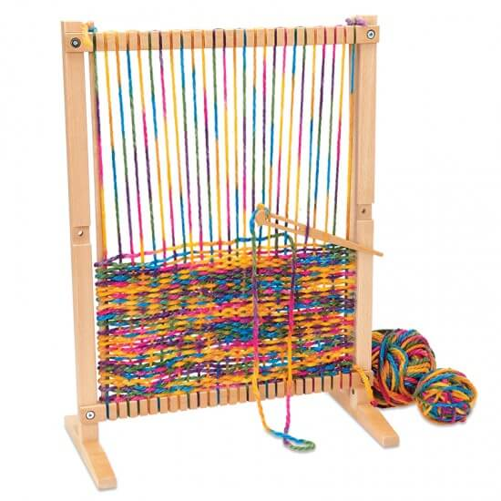 Wooden Multi-Craft Weaving Loom from For Small Hands
