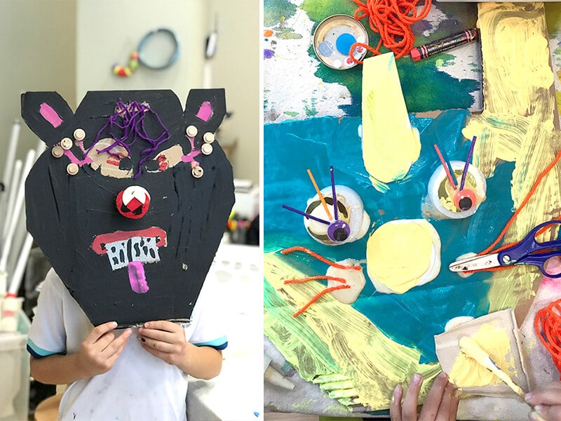 Miro Inspired Magical Animal Masks for Kids_ feature image