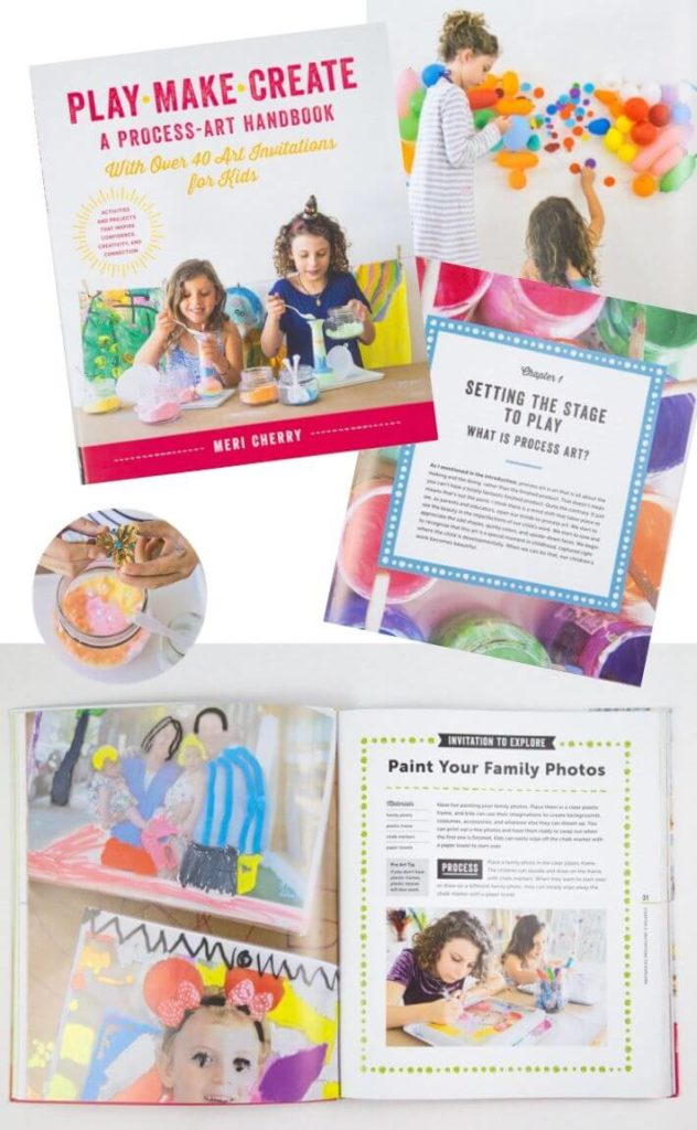 Play Make Create by Meri Cherry - 9 Art Activity Books for Kids