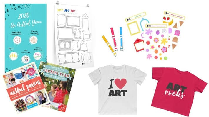 The Artful Parent Shop and Products for Creative Families