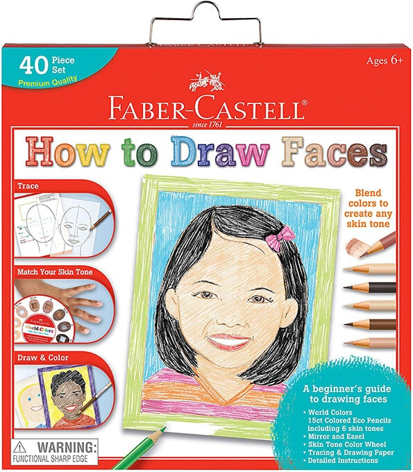 How to Draw Faces kit by Faber Castell