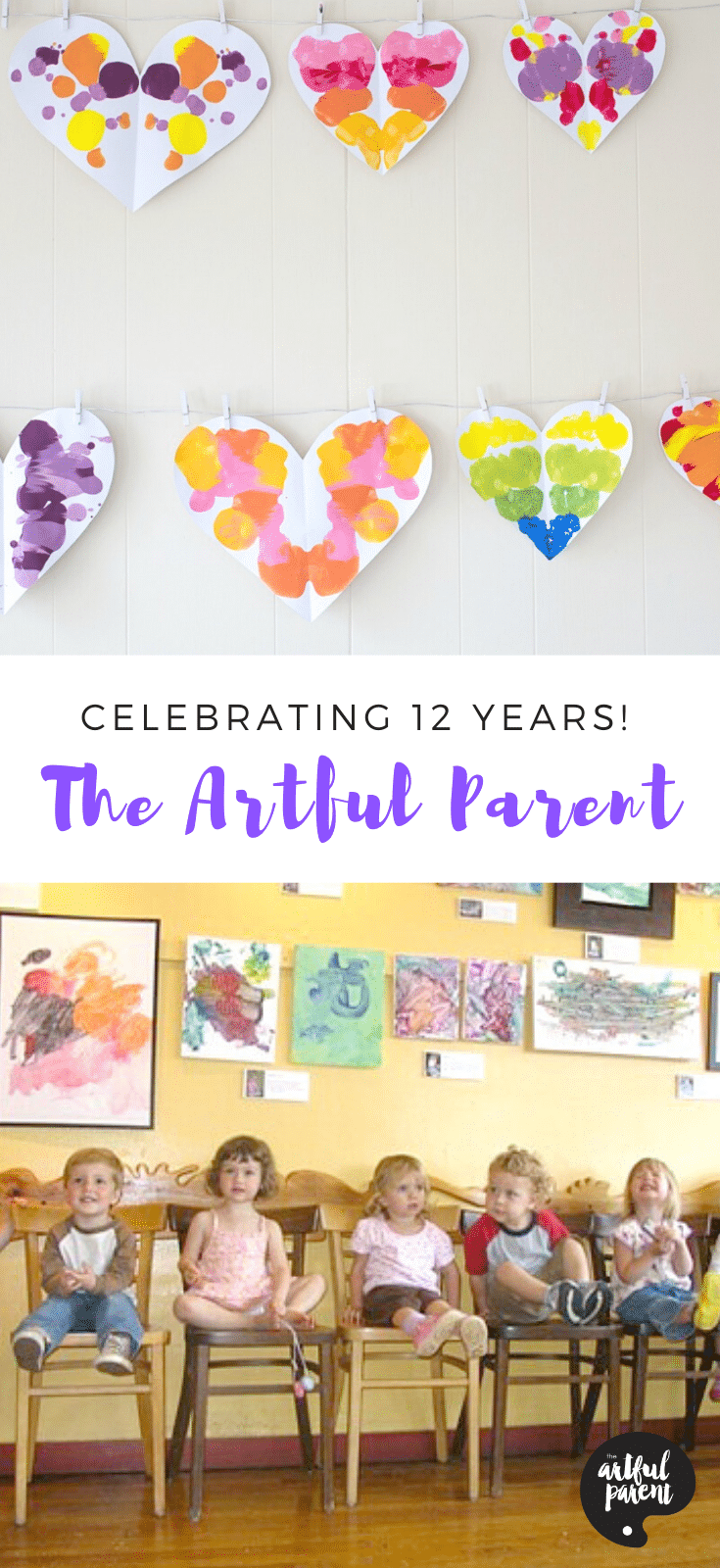 Celebrating 12 Years at The Artful Parent_ Pinterest