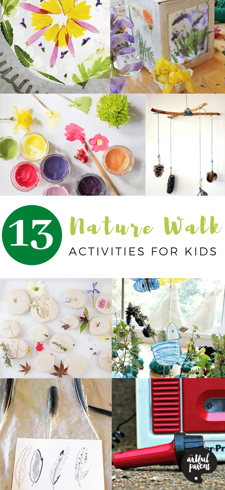 13 Nature Walk Activities for Kids_ Pinterest