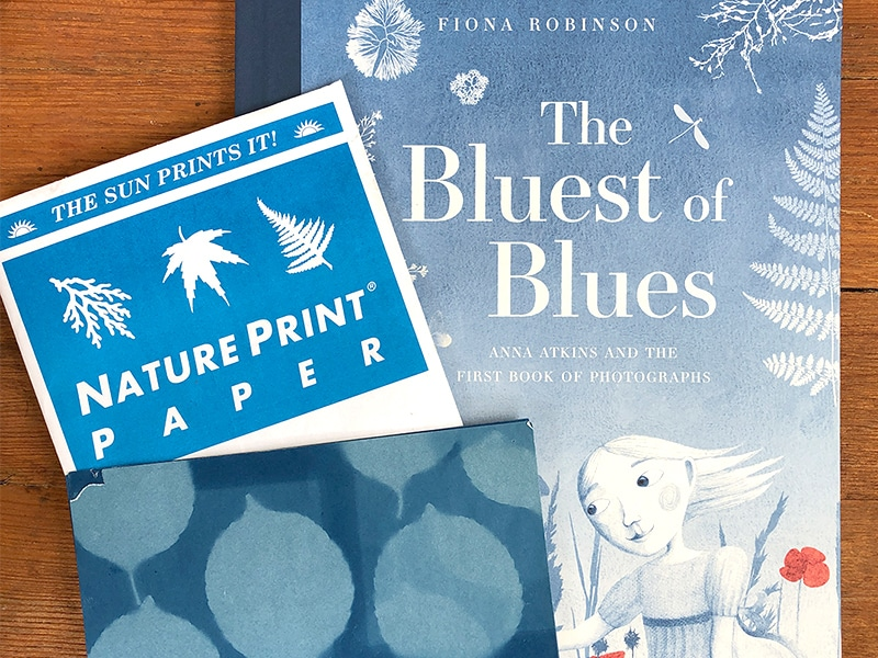 Book about Anna Atkins and sunprints for kids
